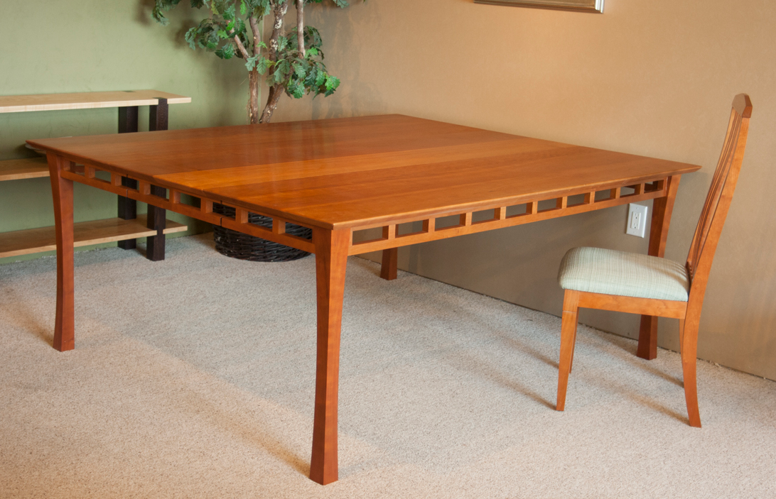 Brunswick dining table, cherry